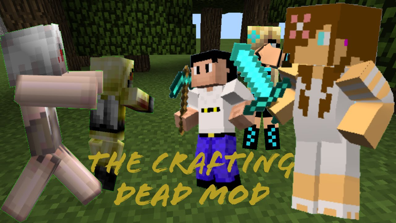 the crafting dead mod minecraft pe mods the crafting dead mod 5576