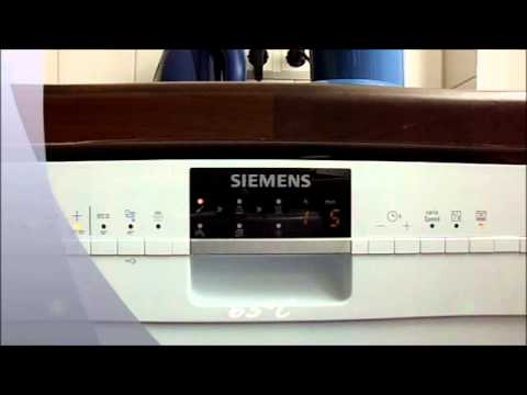 siemens speedmatic sr26t291eu geschirrsp ler youtube. Black Bedroom Furniture Sets. Home Design Ideas