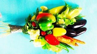 Делаем овощной букет из овощей | Овощной букет своими руками | DIY Vegetables Bouquet