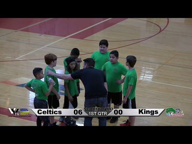 Cottonwood Power Division 1 Youth Basketball: Celtics vs Kings