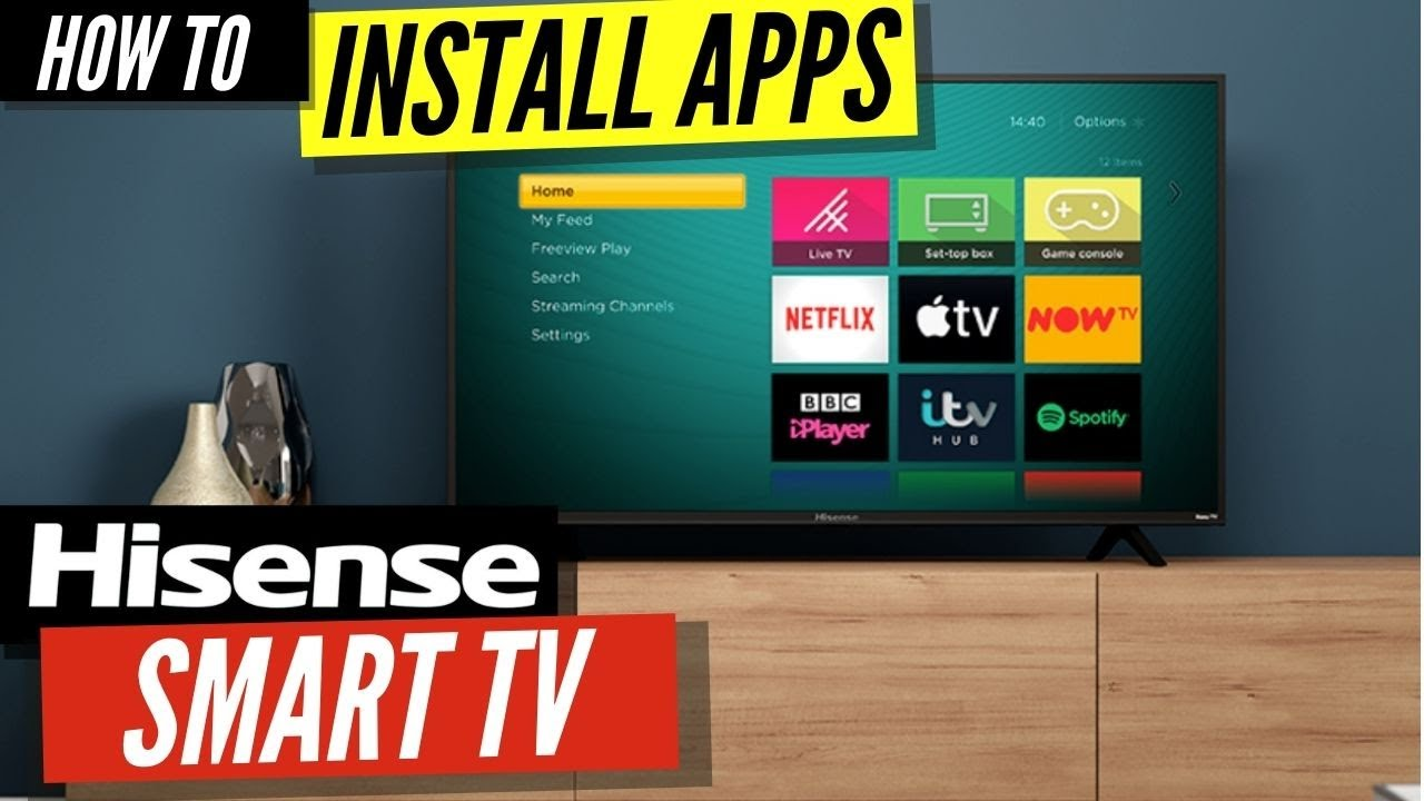 How To Install Apps On A Hisense Smart Tv Youtube