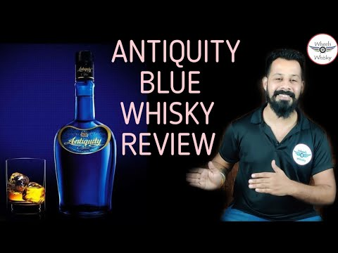 Antiquity Blue Whisky Review | Price/Taste/Nosing in Hindi |