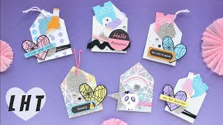 How to Make Mini Envelopes Easy - Little Hot Tamale -Build Your Stash Tutorial