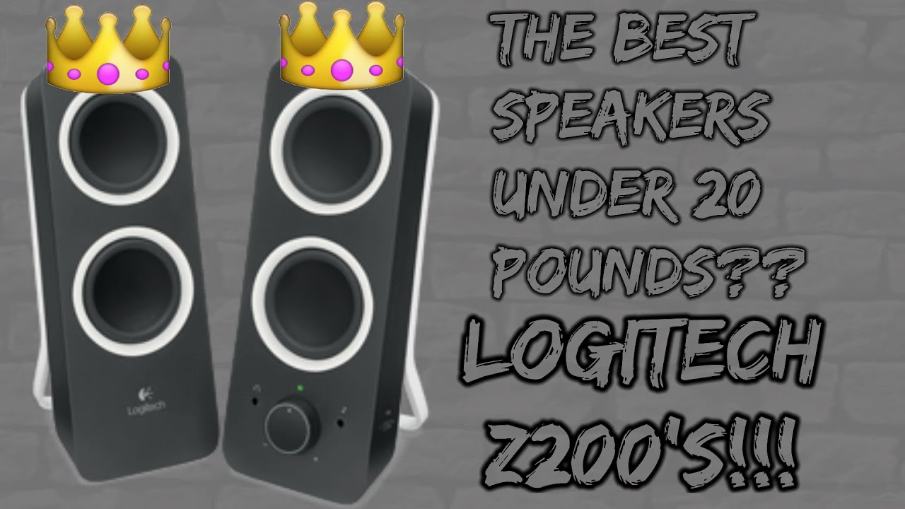 speakers under 20. the best speakers under £20??-logitech z200 review 20 a