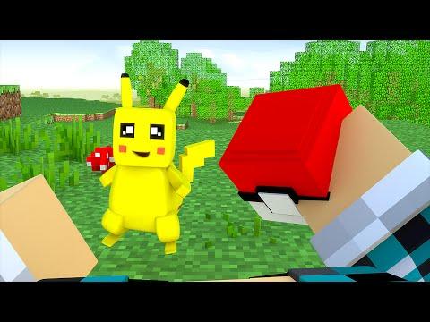 Minecraft : BATALHE CONTRA O PIKACHU !! (Minecraft Pokémon)