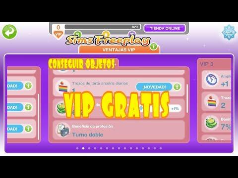 COMO CONSEGUIR OBJETOS VIP GRATIS || Los Sims Freeplay
