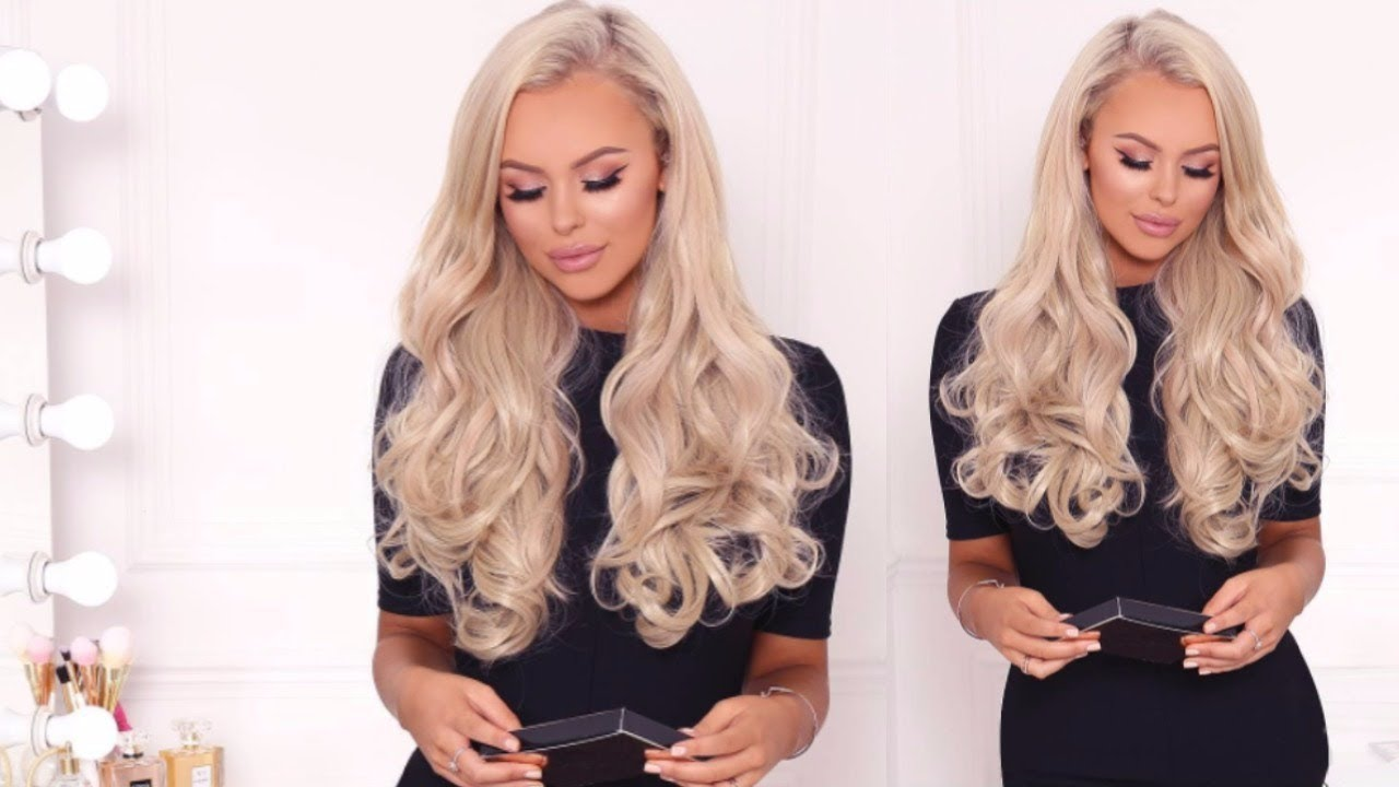 How To Apply Lullabellz Double Thick Layered Curly Hair Extensions