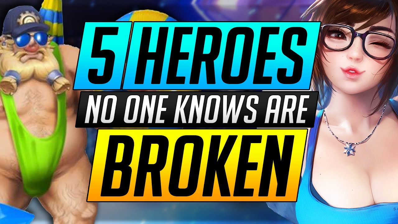 5 Heroes NO ONE KNOWS are BROKEN | Grandmaster Tips and Tricks - Overwatch Pro Guide