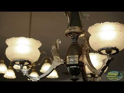 Antique Chandeliers and Vintage Ceiling Lights - Antique Chandeliers And Vintage Ceiling Lights - YouTube