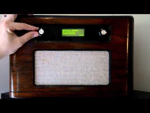 Arduino Powered Retro Wifi Radio