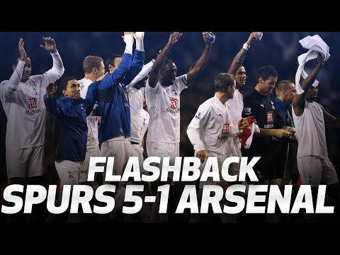 FLASHBACK | Spurs 5-1 Arsenal (January 2008) Mp3