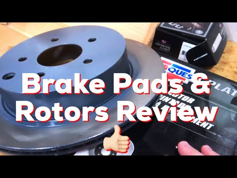 CarQuest Platinum Series Brake Pads & Rotors Review
