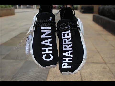 Pharrell x Chanel x Adidas NMD reviews - YouTube c8dedbe60