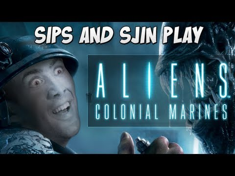 Aliens: Colonial Marines with Sips and Sjin