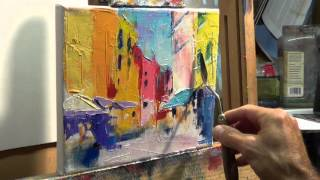 How to Oil Paint: Tips, tricks with the palette knife