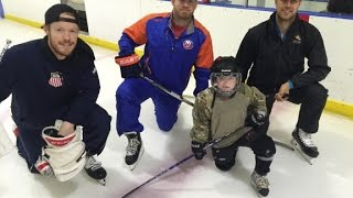 Sports-based charity supports military kids