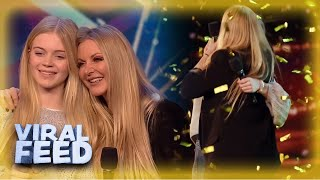 Download lagu INCREDIBLE Mother Daughter Duet Win GOLDEN BUZZER | VIRAL FEED