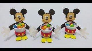 Lembrancinha Mickey no copinho