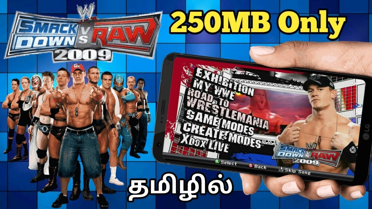 Wwe free games download smackdown vs raw 2009