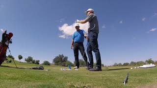 How to get on Plane? Mike Malaska, PGA Golf, Aim the Hands