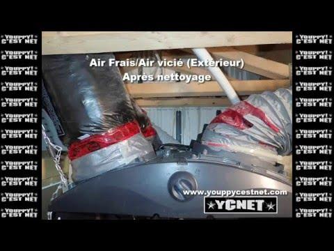 Nettoyage d'un échangeur d'air Venmar HRV 2600