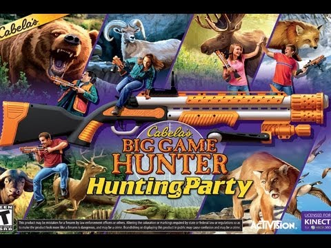 CGRundertow CABELA'S BIG GAME HUNTER: HUNTING PARTY For Xbox 360 Video Game Review