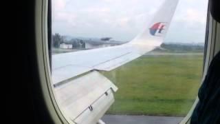 MALAYSIA AIRLINE MH0730 KUL-BWN