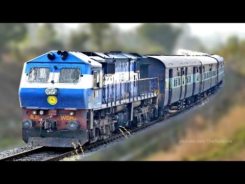 The only AERODYNAMIC ALCo WDM3D 11121 : Indian Railways