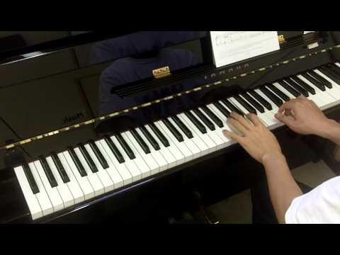 ABRSM Piano 2005-2006 Grade 1 B:2 B2 Le Couppey Arabian Air No.28 ABC du Piano
