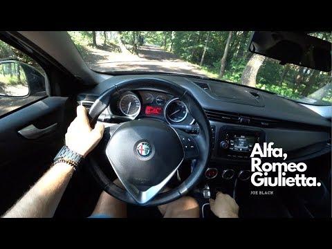 Alfa Romeo Giulietta  1.6 JTD 105 HP 4K   POV Test Drive #086 Joe Black
