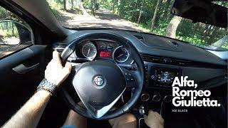 Alfa Romeo Giulietta 1.6 JTD 105 HP 4K | POV Test Drive #086 Joe Black