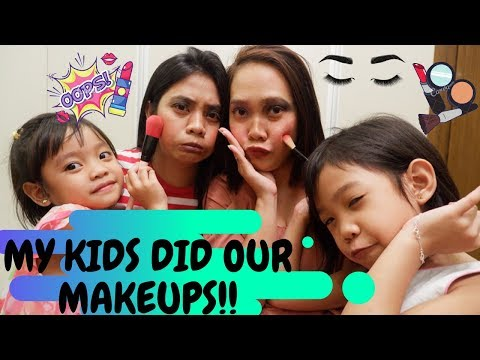 MAKEUP TUTORIAL BY MY KIDS.!!!! | FAMILYMUNDO