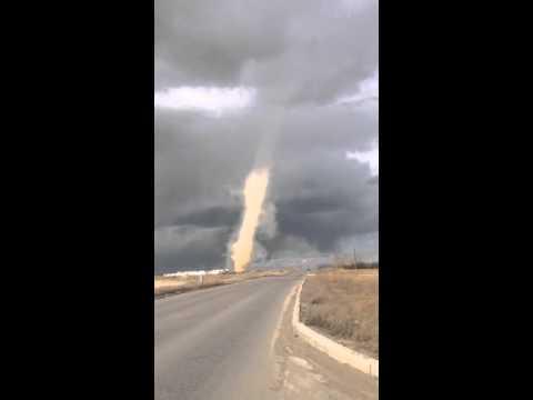 Alberta Canada's First Tornado in 2016