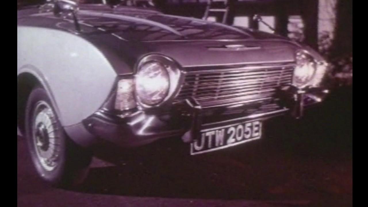 Ford Corsair Car Cinema Ad 1960's