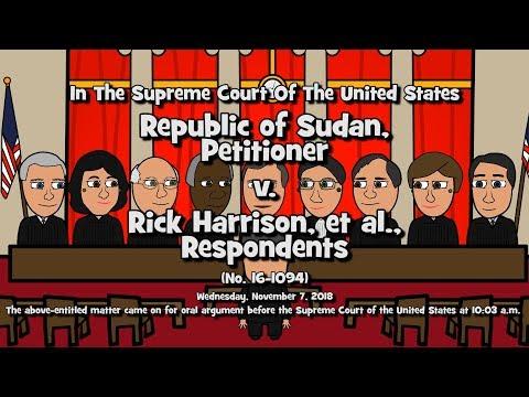 Republic of Sudan v. Harrison (SCOTUS-Toons)