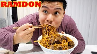 How To Make RAMDON From PARASITE In 5 Minutes!   MUKBANG!