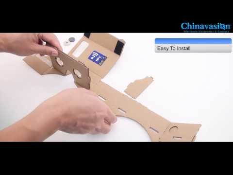google goggles for iphone review diy 3d cardboard glasses mobile phone 14216