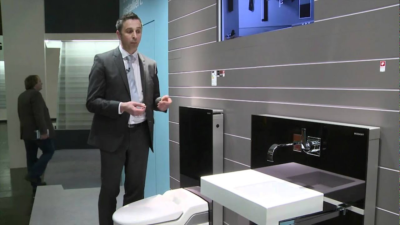 geberit monolith youtube. Black Bedroom Furniture Sets. Home Design Ideas