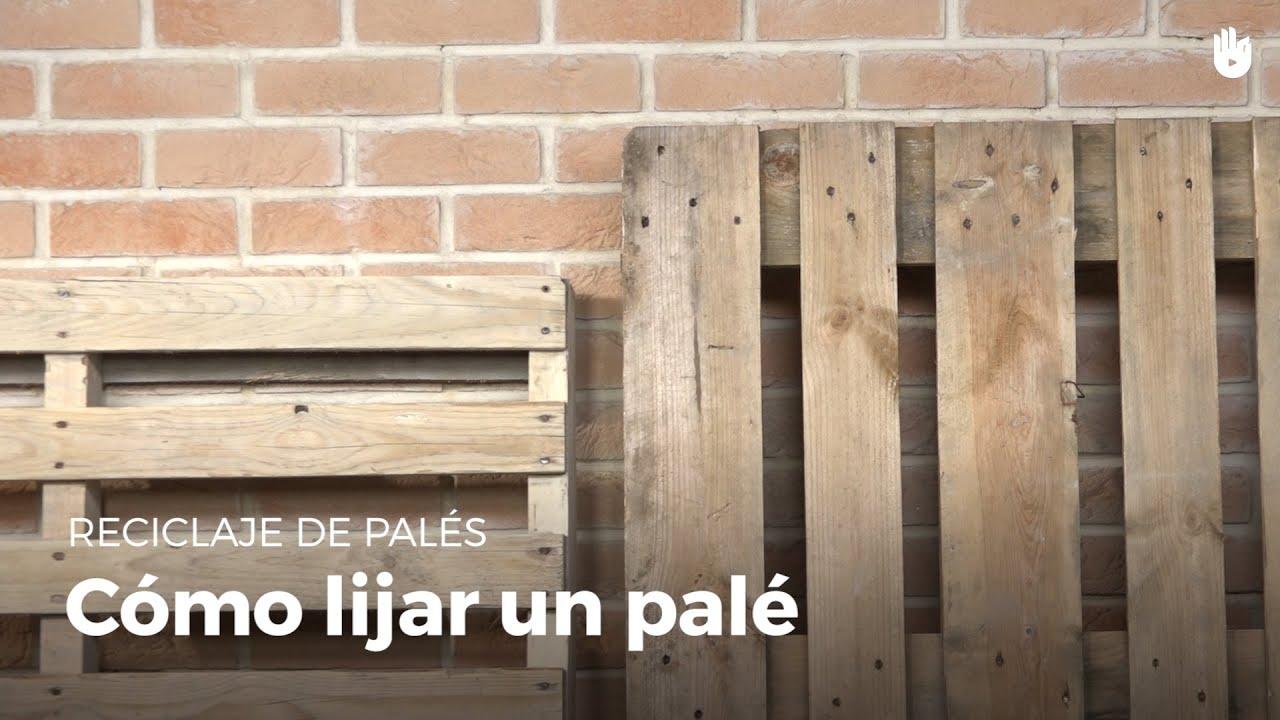 C mo lijar la madera correctamente reciclaje de pal s - Como lijar una puerta ...