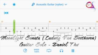 [Guitar] Moonlight Sonata (Ludwig Van Beethoven) - Hướng dẫn Guitar Solo #005