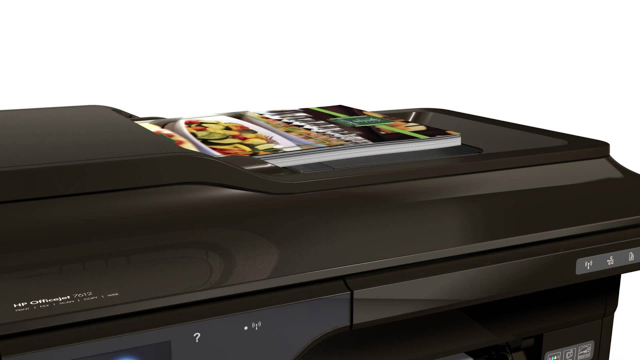 Hp Officejet 7612 G1x85a Wide Format All In One Printer