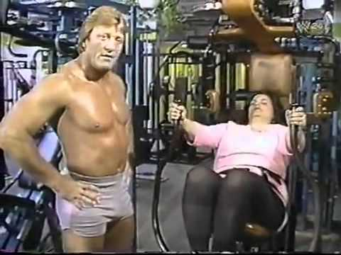 """Mr Wonderful"" Paul Orndorff at the Gym  (1984)"
