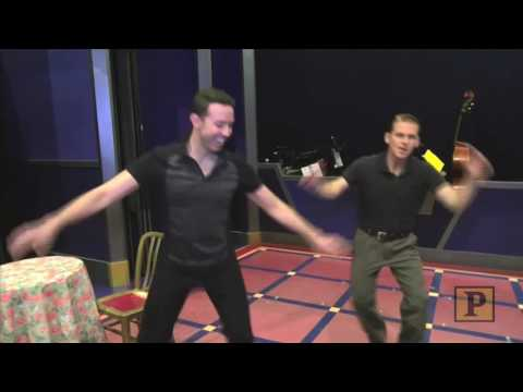 The New Hamilton and Burr? Cagney Stars Robert Creighton and Jeremy Benton in a Tap Dancing Duel!