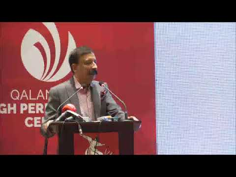 Live Press Conference at Qalandars' High Performance Centre