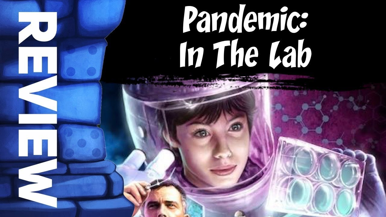 Pandemic: In the Lab Review - with the Game Boy Geek