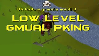 OSRS Low Level Gmaul Pking l Commentary
