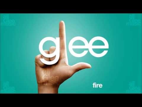 Fire | Glee [HD FULL STUDIO]