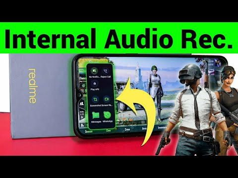 Screen Recording with Internal Audio on Realme 3 Pro and Realme 3