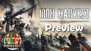Iron Harvest Preview - I test out the single player