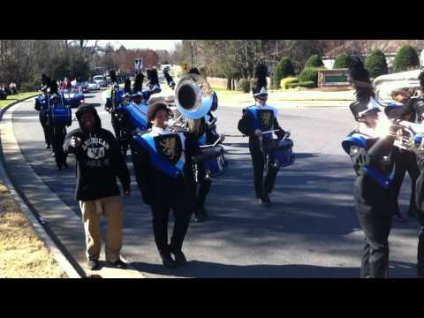 Olympic Marching Trojan Band--Lake Wylie Elementary School Winter Parade 2011
